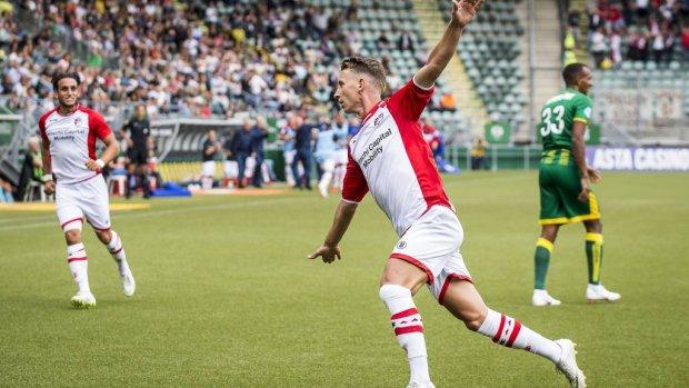 FC Emmen debuteert met zege in eredivisie