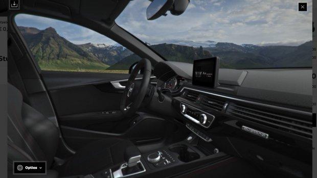 Je kunt nu je nieuwe Audi in 3D configureren
