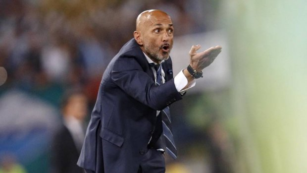 Trainer Spalletti langer bij Inter