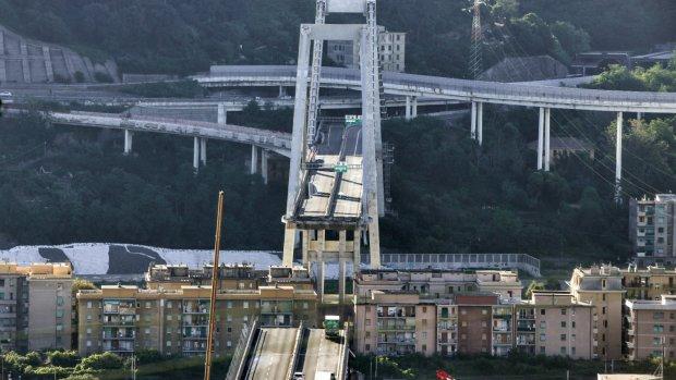13 miljoen voor topman bedrijf ingestorte brug Genua