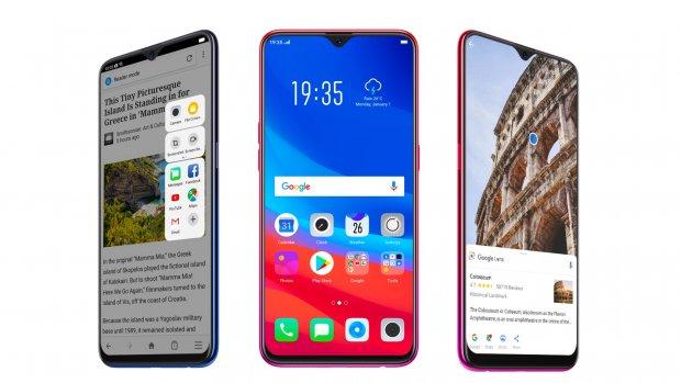 Oppo lanceert nieuwe telefoon met fraaie notch
