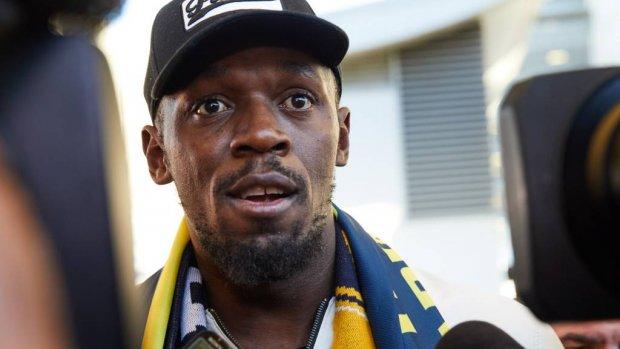 Bolt wil in Australië slagen als voetballer