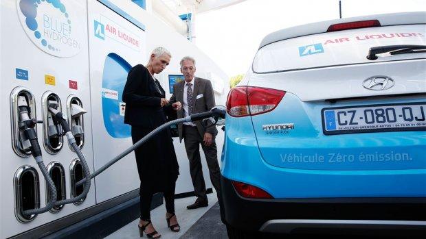 Shell maakt voorzichtig begin met waterstofstations in Nederland