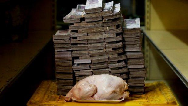 Zo ziet hyperinflatie eruit in Venezuela