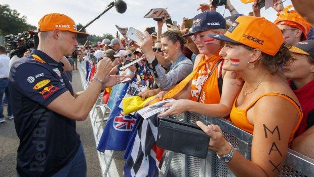 Thuisrace voor Max Verstappen op Spa-Francorchamps
