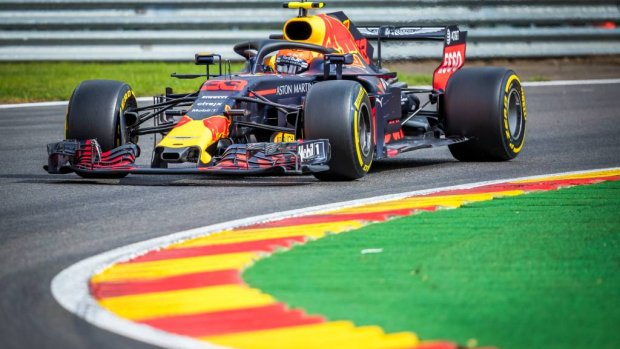 Vierde tijd Verstappen, Räikkönen de snelste