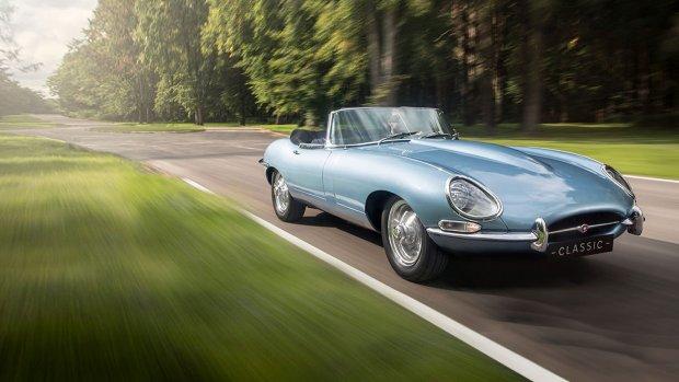 Elektrische versie klassieke Jaguar in productie