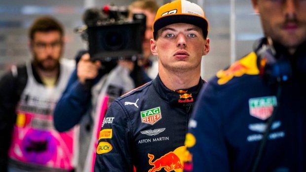 Verstappen vijfde in laatste training België