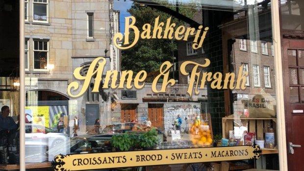 Amsterdamse bakkerij Anne & Frank wijzigt naam na ophef