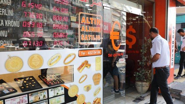 Moody's slaat alarm om Turkse banken, koers lira omlaag