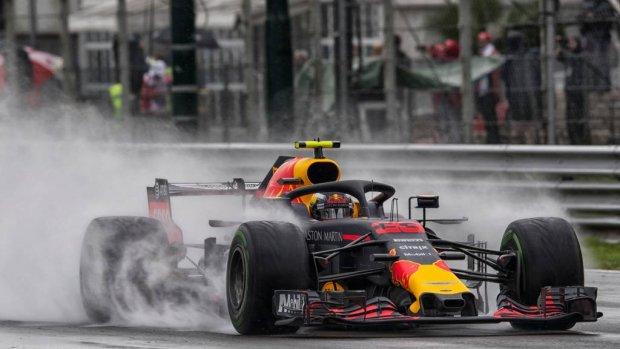 Verstappen nummer vijf in tweede training op Monza