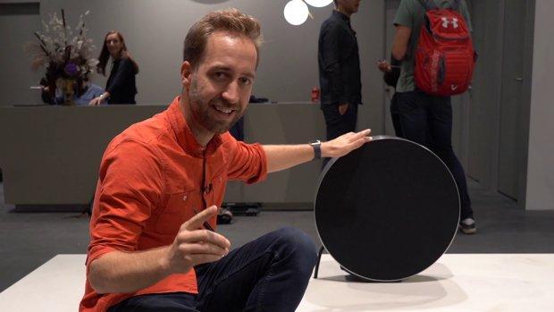 Mooiste gadget van IFA: deze rollende speaker