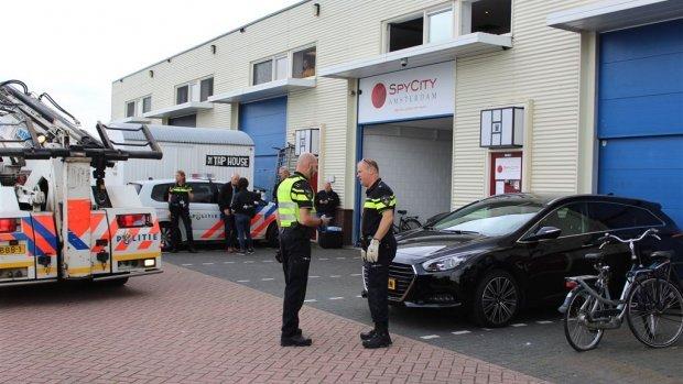 Amsterdam sluit spyshop na poging liquidatie medewerker