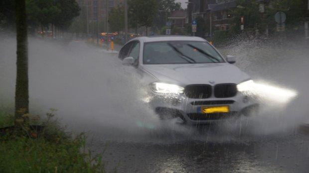 'Bizar veel regen gevallen'