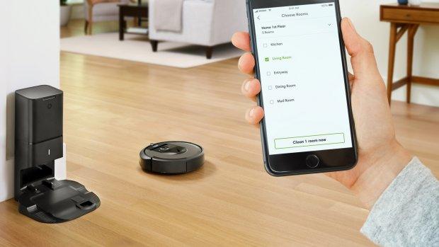 Nieuwe robotstofzuiger Roomba is slimmer en leegt zichzelf