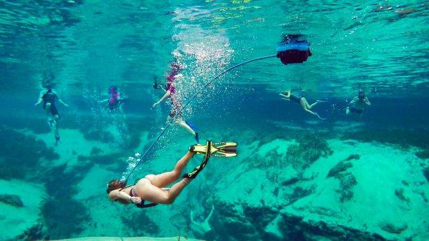 Met deze gadget duik je zonder zuurstoffles
