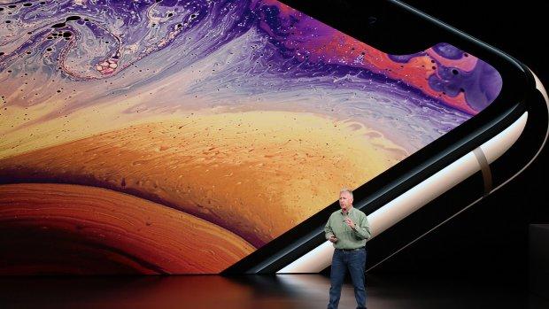 Apple presenteert drie iPhones zonder knop