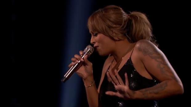 Aftellen tot optreden Glennis Grace: zangeres in finale