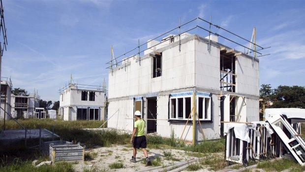 Te weinig nieuwe huizen door gebrek aan bouwvakkers