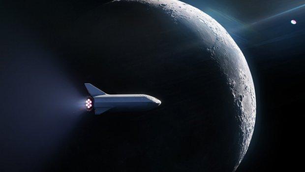 Eerste aanmelding voor vlucht om de maan met SpaceX
