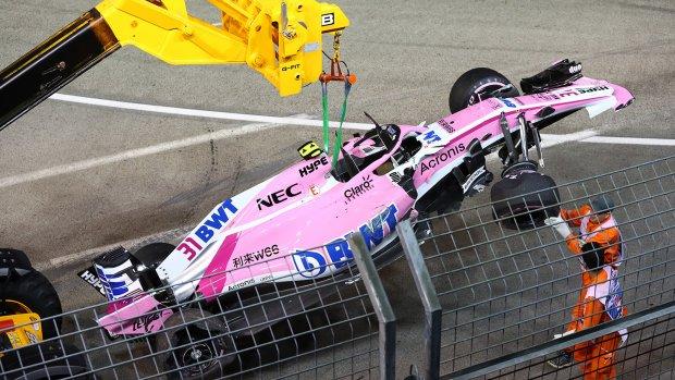 Force India dreigt opnieuw met teamorders na debacle in Singapore