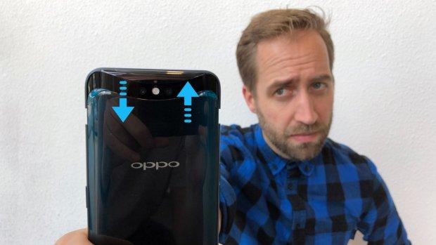 Review: Oppo-telefoon met uitschuivende camera's