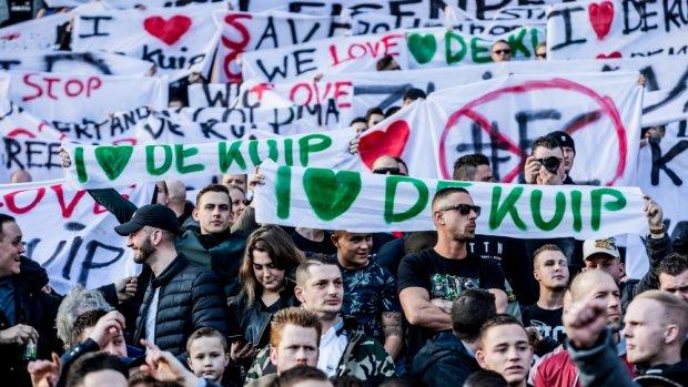'KNVB staat vol achter nieuw Feyenoord-stadion'