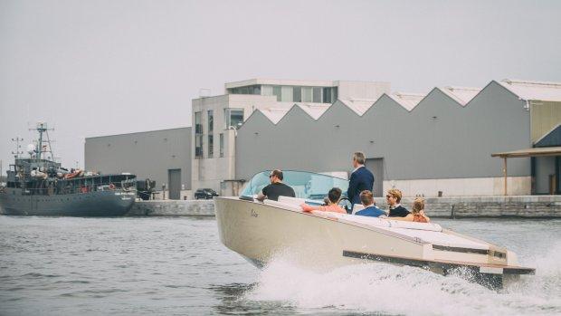 Deze elektrische speedboot uit België is recyclebaar
