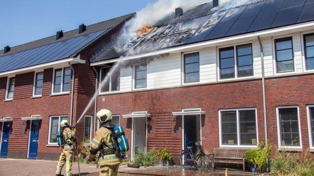 Zorgen over hoge aantal zonnepaneelbranden