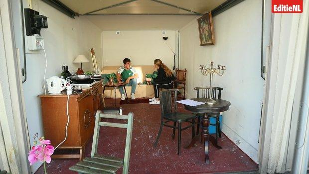 Vlog #1: Nina woont in een garagebox