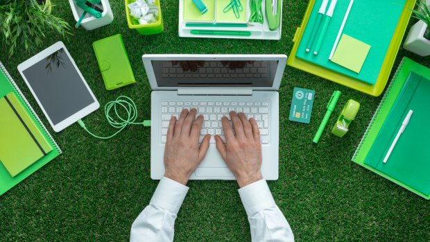 Een duurzaam kantoor voor nerds en supernerds