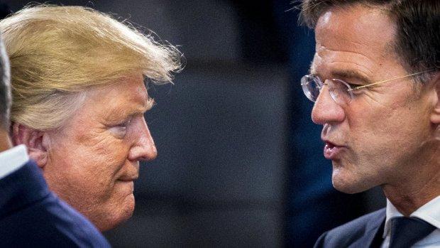 Rutte III haalt NAVO-norm niet, wordt zelfs minder