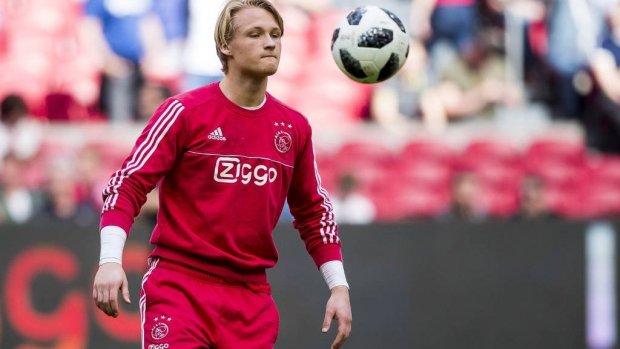 Dolberg, Schuurs én De Ligt in wedstrijdselectie Ajax