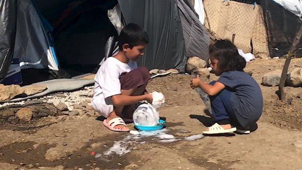 'Migrantenkampen op Lesbos zijn een schandvlek voor Europa'
