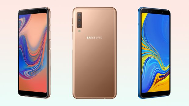 Nieuwe Samsung-telefoon heeft drie cameralenzen achterop