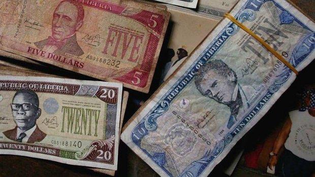 Liberia is 100 miljoen euro aan nieuwe bankbiljetten kwijt
