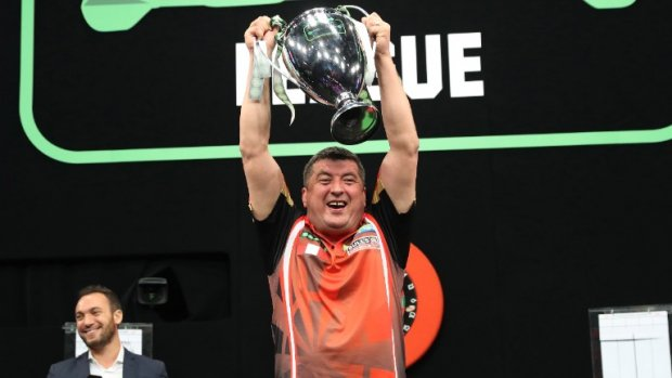 Champions League of Darts: speelschema en tussenstand