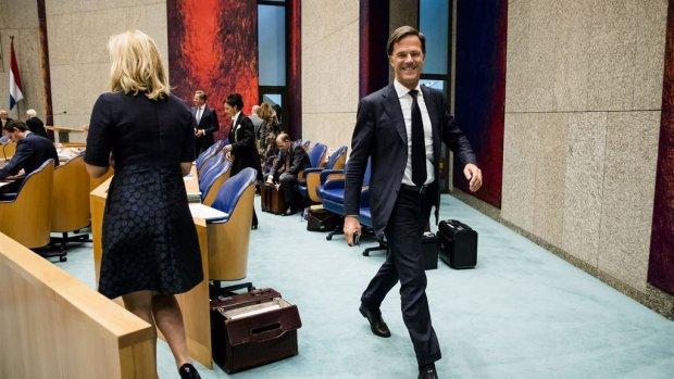 Premier Rutte verdedigt begroting van het kabinet