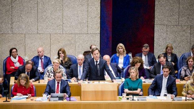 Oppositie botst met premier Rutte over afschaffen dividendtaks
