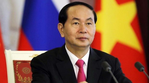 'President Vietnam overleden'