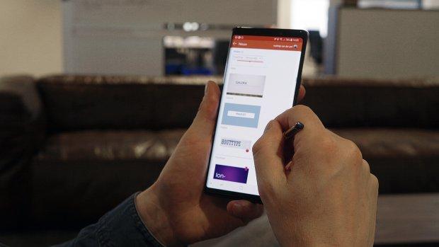 Galaxy Note9: Speelse telefoon met een zakelijk kantje
