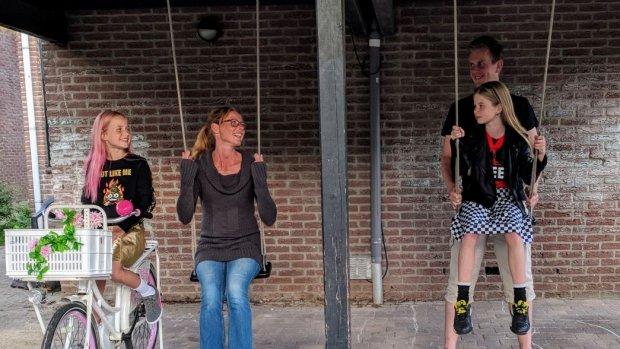 Buren worden na je scheiding: kinderen blij