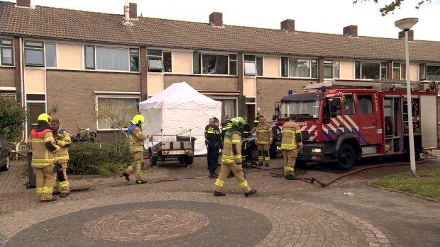 Ouders en kinderen omgekomen bij grote brand in Papendrecht