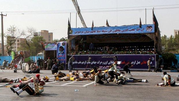 Terreurorganisatie ontkent betrokkenheid bij aanslag Iran