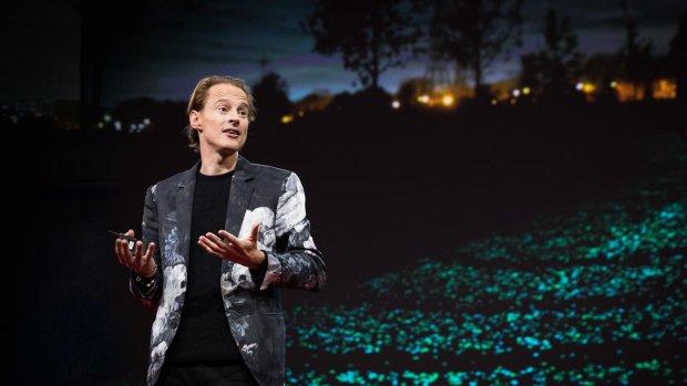 Daan Roosegaarde spreker op eerste Bright Day @ Night