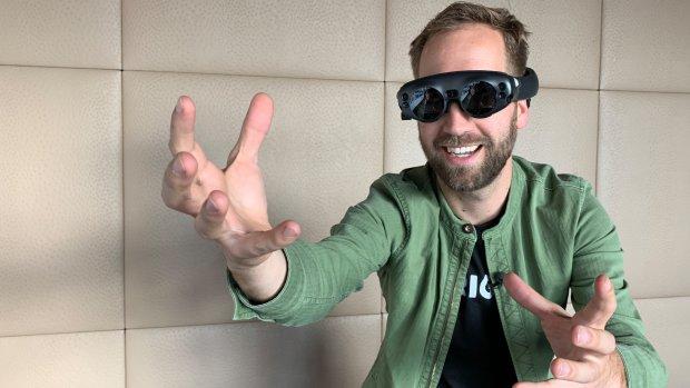 Japanse telecomreus investeert in AR-bril Magic Leap