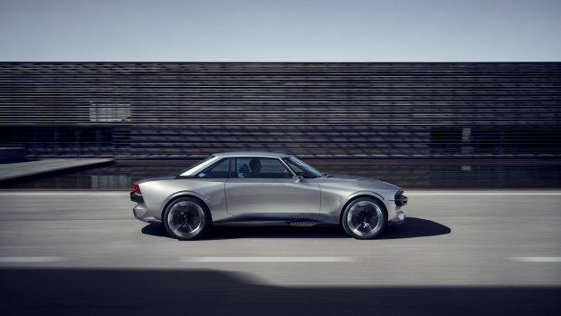 Peugeot verrast met elektrische retro-coupé