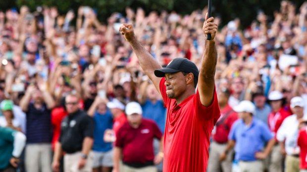 Tiger Woods is terug, goed nieuws voor zijn concurrenten