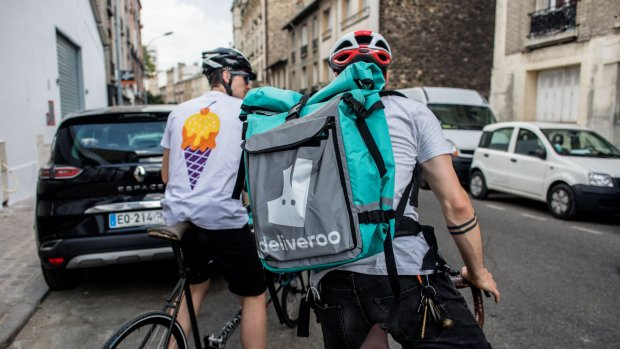 Techreuzen azen op Deliveroo: 'Amazon wil bezorgdienst overnemen'