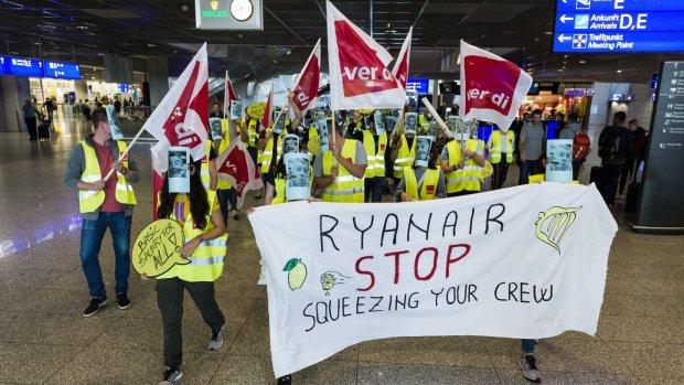 Piloten klaar met Ryanair, stappen naar rechter om ontslag